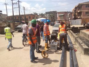 Expasion of water distribution Network, Surulere