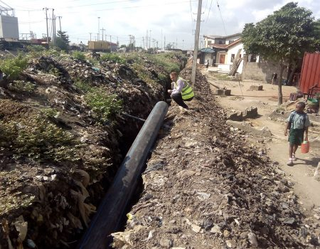 SISTEMA DE DISTRIBUCIÓN DE AGUA EN LAGOS, NIGERIA
