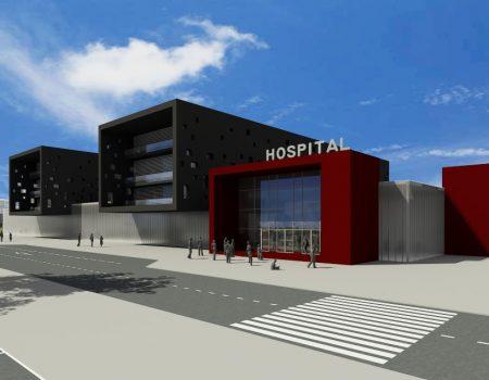 HOSPITAL MILITAR EN BATA, GUINEA ECUATORIAL