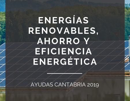 Cantabria: ayudas a la eficiencia energética.
