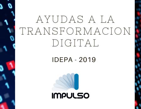 Ayudas a la Transformación digital.