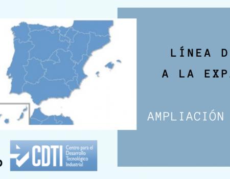 18/03/2020 <br> <br> CDTI AMPLÍA LA LÍNEA DIRECTA DE EXPANSIÓN (LIC-A) A TODA ESPAÑA