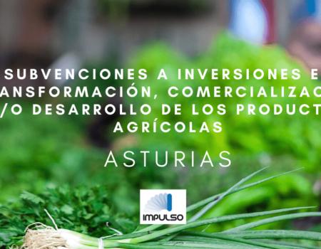 Subvenciones para INVERSIONES EN INDUSTRIA AGROALIMENTARIA Y FORESTAL en ASTURIAS