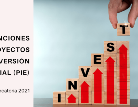 El IDEPA abre la convocatoria 2021 del programa de SUBVENCIONES PARA PROYECTOS DE INVERSIÓN EMPRESARIAL (PIE)